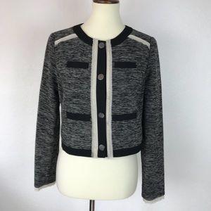 Vince Camuto Tweed Lined Jacket